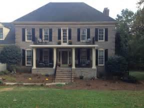 Raised Brick Front Porch