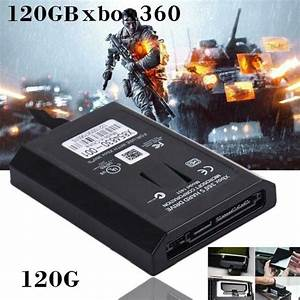 120gb Internal Hdd Hard Drive Disk For Xbox 360 E Xbox 360
