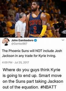 CAVS John Gambadoro the Phoenix Suns Will NOT Include Josh ...