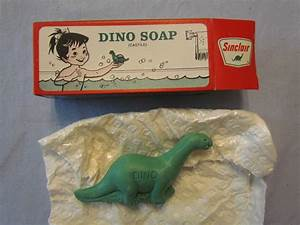 Vintage mib sinclair old gas station dino soap my paternal for Dinosoap