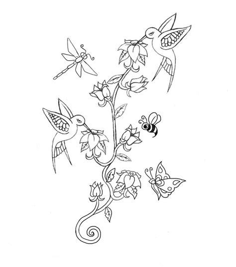 flower outline tattoo ideas  pinterest