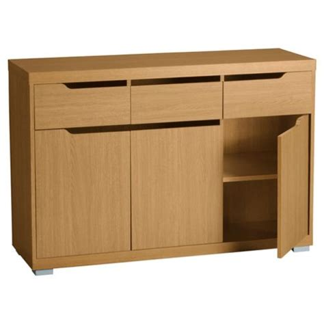 Tesco Sideboards by Buy Seattle Large Sideboard Oak Effect From Our
