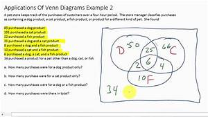 Solving Word Problems With Venn Diagrams Three Sets