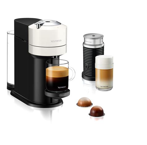 Espresso, at the touch of a button. Nespresso® Vertuo Next Coffee and Espresso Machine by Breville with Aeroccino Milk Frother ...