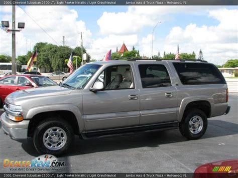 2001 Chevrolet Suburban 2500 LT Light Pewter Metallic ...