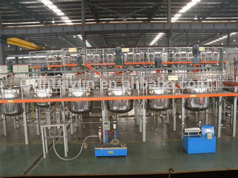 automatic paint machinery paint manufacturing equipment