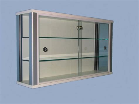 glass fronted wall cabinet wall mounted display units wall mounted display cabinets