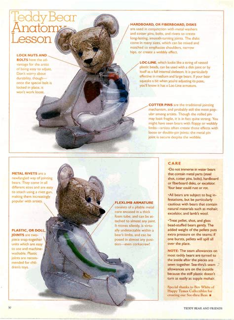 happy tymes collectibles artist bears  bev white