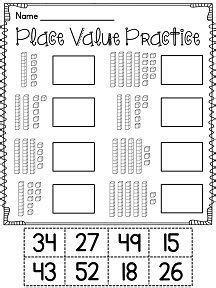 worksheets on place value for grade 1 1000 images about grade math on count anchor charts and skip counting