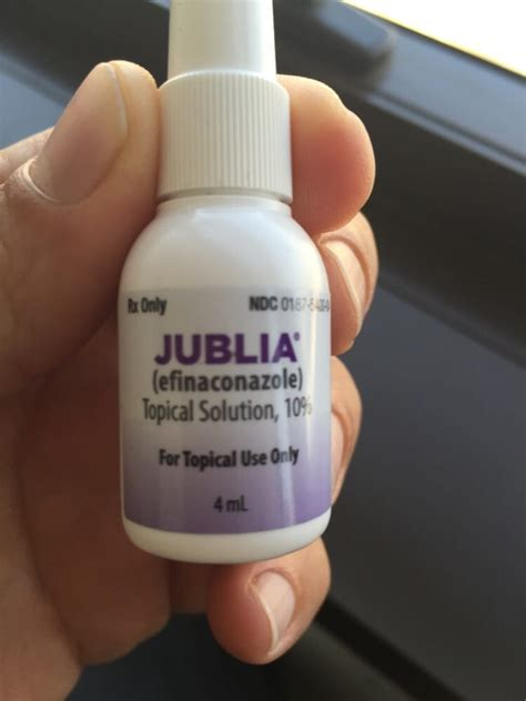 Jublia miracle cure $538 for a 4ml bottle - Yelp