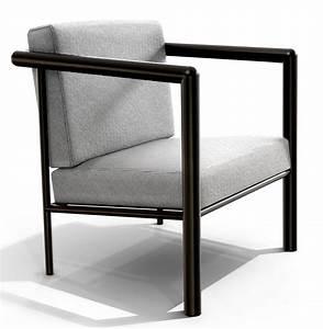 Petit Fauteuil Confortable : petit fauteuil mallet stevens ~ Teatrodelosmanantiales.com Idées de Décoration