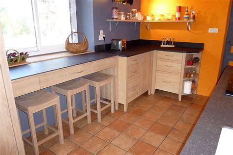 cuisine bois naturel ecologie design des meubles en bois massif écologiques