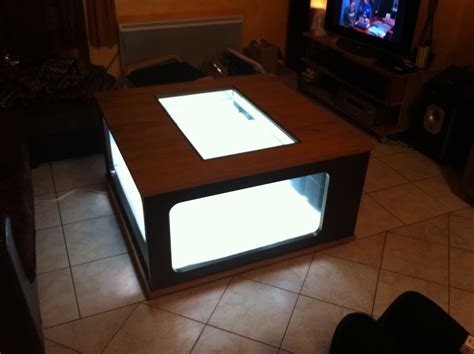 aquarium table basse de salon maison design stuhne