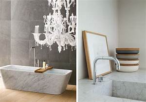 la vedette du jour le marbre blanc dazed by daze With salle de bain style nordique