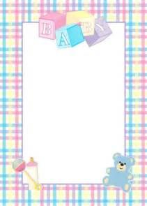 for baby shower 10 tarjetas para baby shower con bordes tarjetas para