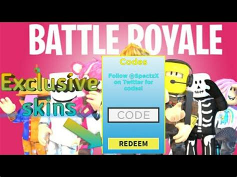 fortnite battle royale simulator exclusive skin codes omg