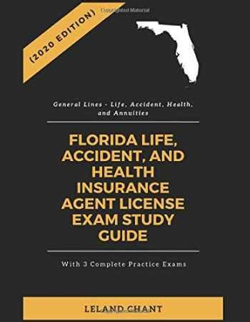 Life & health test practice questions & review for the life & health insurance exam (cards). Sell, Buy or Rent (2020 Edition) Florida Life, Accident ...