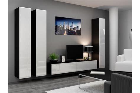 ensemble meuble tv design suspendu kiko chloe design