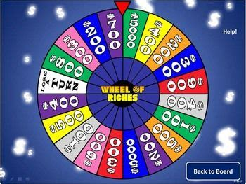 create    class review game   wheel