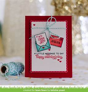lawn fawn die love letters With lawn fawn love letters