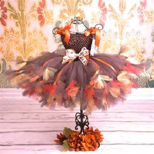 thanksgiving harvest baby couture tutu dress