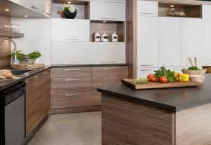 cuisine stratifié ou mélaminé bois placage mélamine stratifié cuisine kadrium design