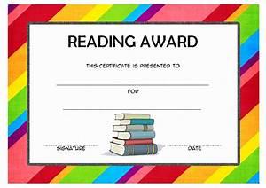 Reader Award Certificate Templates   Best 10 Templates