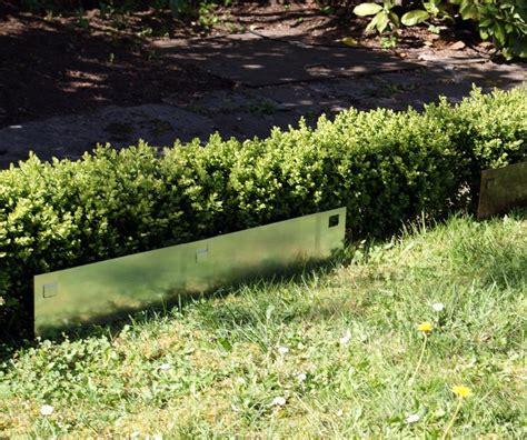 appliques cuisine bordures de jardin acier peint ou galva lot de 5 l45 cm x h12 cm jardin bordures de jardin