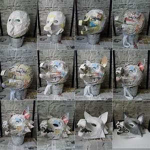 Faschingsmasken Selber Machen : faschingsmasken aus pappmache basteln wolf maske masken masken selber machen ~ Eleganceandgraceweddings.com Haus und Dekorationen