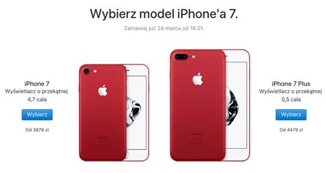 iphone 7 cena czerwony iphone 7 product quot special edition