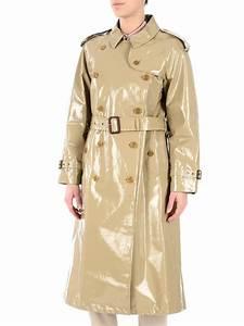 Trench Coat Burberry Homme : burberry laminated gabardine trench coat trench coats 40662891 ~ Melissatoandfro.com Idées de Décoration