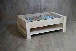 Display coffee table unmatched furniture creation for Coffee table display ideas