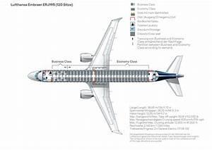 Seat Map  Embraer Erj 195