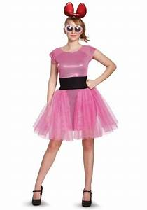 Blossom Deluxe Adult Costume from Powerpuff Girls