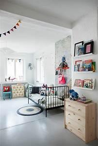 Lit Enfant Sol : 80 astuces pour bien marier les couleurs dans une chambre d enfant ~ Nature-et-papiers.com Idées de Décoration