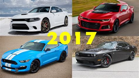 Top 5 Fastest Modern Muscle Cars 2017