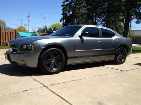 Dodge Charger Stock Rims by My 2006 Dodge Charger With Gunmetal Grey Powder Coated