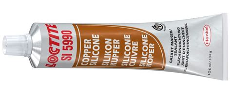 Pate A Joint Moteur Silicone Cuivre Loctite Si 5990, Tube