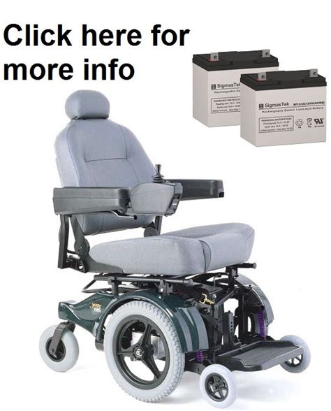 Jazzy Power Wheelchair Batteries by Pride Mobility Jazzy 1105 Power Wheelchair Battery Sp12 55