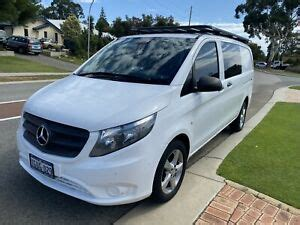 2008 vito 111cdi lwb traveliner in metallic silver, twin side loading doors, privacy glass,heated rear window, e/windows, e/mirrors, air conditioning. 2016 Mercedes-benz Vito 114 Bluetec Lwb Crew Cab 7 Sp Automati...   Cars, Vans & Utes   Gumtree ...