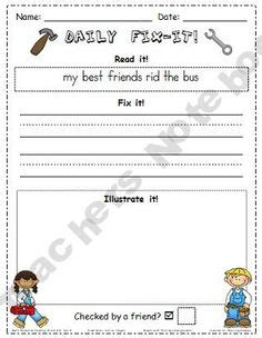 grade  word work ideas images grade  word