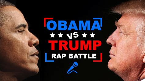 trump obama vs donald rap battle week barack scrooge
