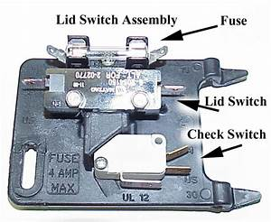 Which Components Wired To A Maytag Lid Switch Could Also