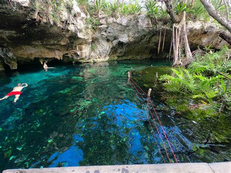 visiting gran cenote