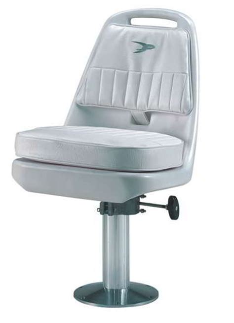 Boat Captains Chair With Pedestal by Wise Standard Pilot Chair Cushions Slider Adj Pedestal