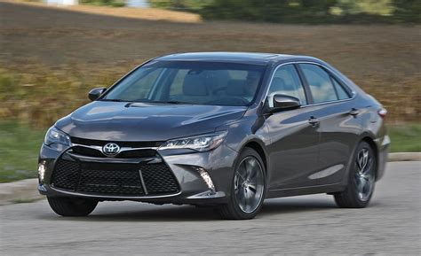 toyota camry xse   test review car  driver