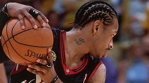 Top Finals Moments Iverson39s Jumper And Step Over