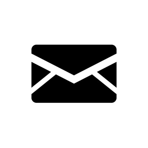 white mail icon vector png mail icon vector png pixsector