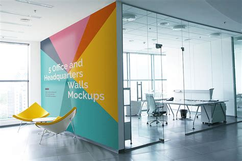 Download This Free Office Wall Mockups In Psd