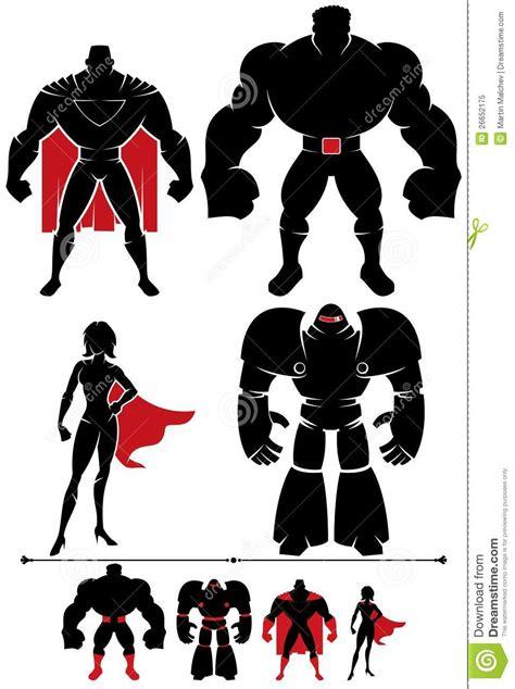 superhero silhouette stock vector illustration  huge